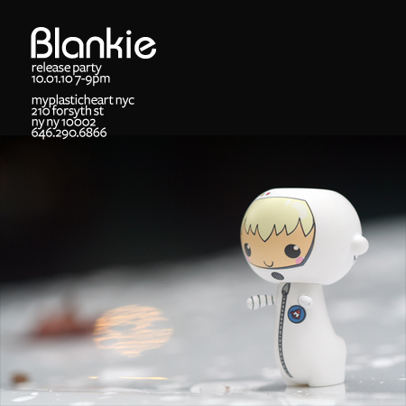 Reminder : Blankie release party tomorrow!