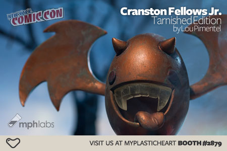 NYCC : Cranston Fellows Jr. Tarnished Edition