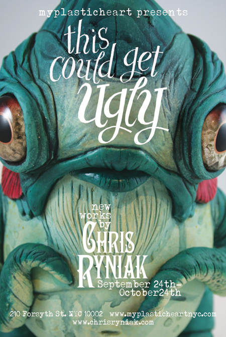 This Could Get Ugly : New Works by Chris Ryniak 9/24