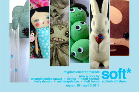 Soft* : A Plush Art Show opening 03/18