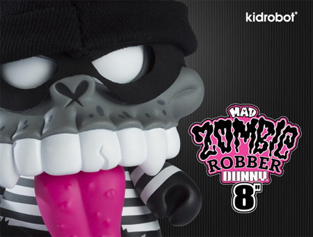 Zombie Robber Dunny Coming Week of 7/17