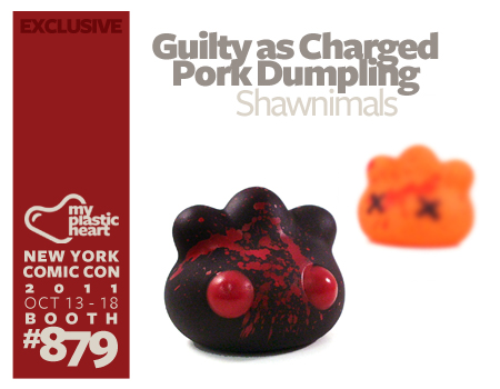 "NYCC : ""Guilty as Charged"" Pork Dumpling by Shawnimals"