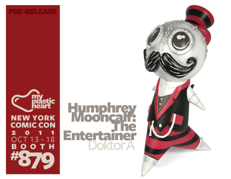 NYCC : Humphrey Mooncalf – The Entertainer Edition