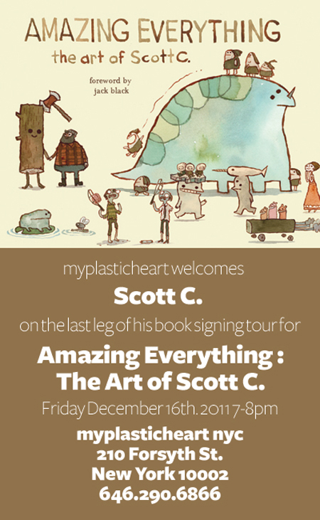 Book & Print Signing with Scott C!