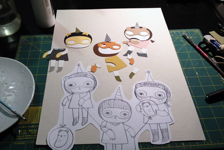Work in Progress Shots: Andrea Kang