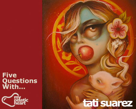 Five Questions With… Tati Suarez!