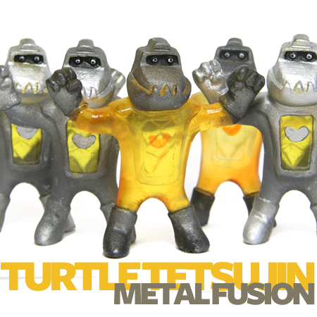 Turtle Tetsujin Metal Fusion exclusives invade MPH