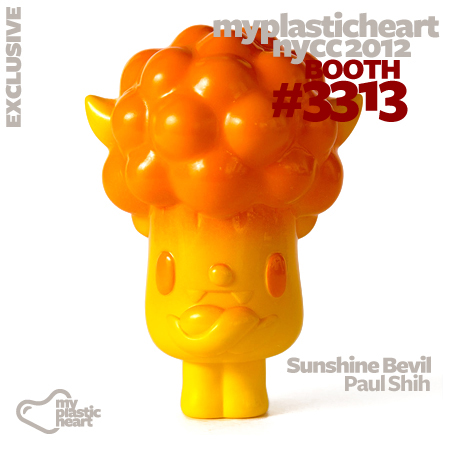 NYCC 2012 mph Exclusive :: Sunshine Bevil by Paul Shih