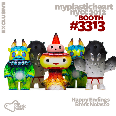 Brent Nolasco's Super7 Customs for NYCC 2012
