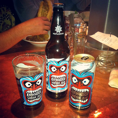 Martin Ontiveros for Abominable Winter Ale
