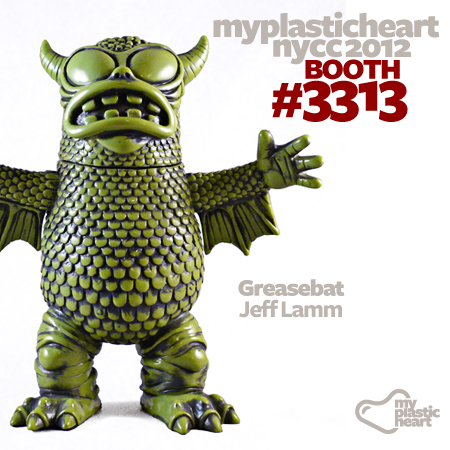 NYCC 2012 Jeff Lamm Greasebat Exclusive