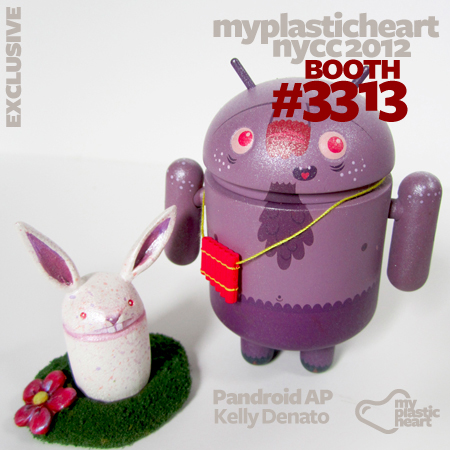 Pandroid APs by Kelly Denato at NYCC 2012