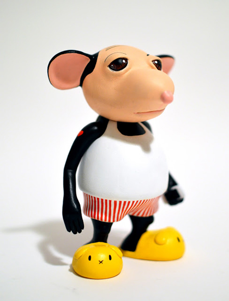 Stevie the Wonder Mouse : New Figure by Okedoki