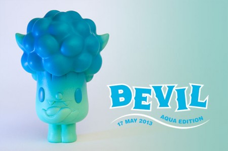 New Bevil and Sushi Kaiju Releases from Paul Shih