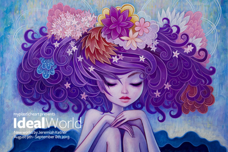 Ideal World : New Works by Jeremiah Ketner Opens August 9th