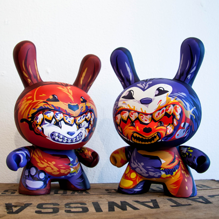 Closer Look : Dunny Dunnibal by ilovedust