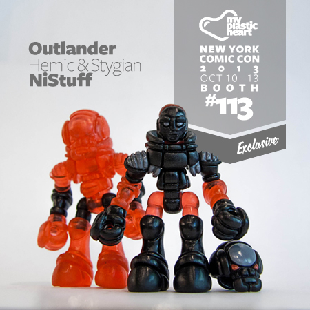 MPH Exclusive NYCC 2013 – Hemic & Stygian Outlanders by NiStuff