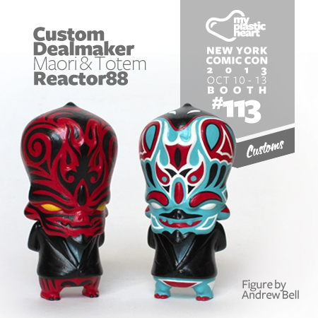 MPH Customs NYCC 2013 – Custom Dealmakers by Reactor88