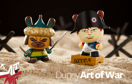 Dunny Art of War releases tonight!