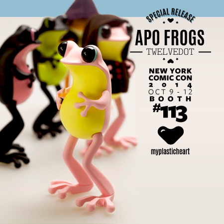 NYCC 2014 Release – APO Frogs