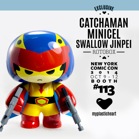 NYCC 2014 Exclusive – Catchaman Minicel Swallow Jinpei