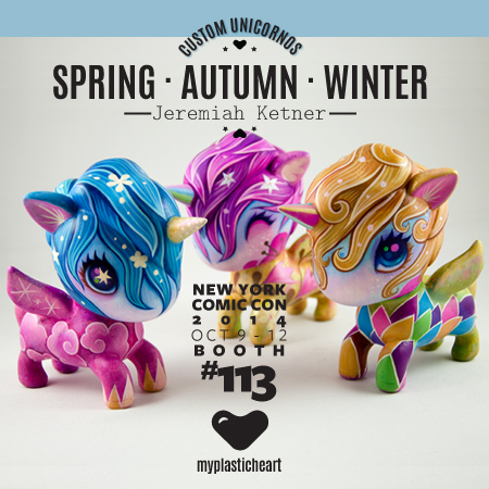 NYCC 2014 Custom – Spring, Autumn and Winter by Jeremiah Ketner