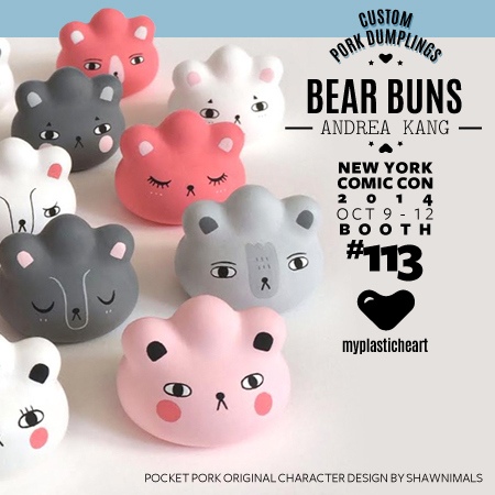 NYCC 2014 Custom – Bear Buns by Andrea Kang