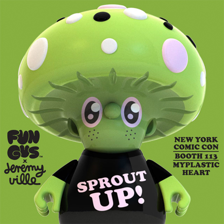 NYCC 2014 – FUN GUS by Travis Cain Kickstarter Release