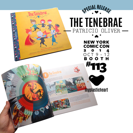 NYCC 2014 Release – The Tenebrae signing and book release with Patricio Oliver