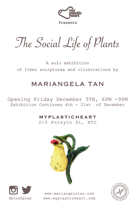 The Social Life of Plants opens Dec 5th