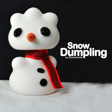 Let's build a Snow Dumpling together!