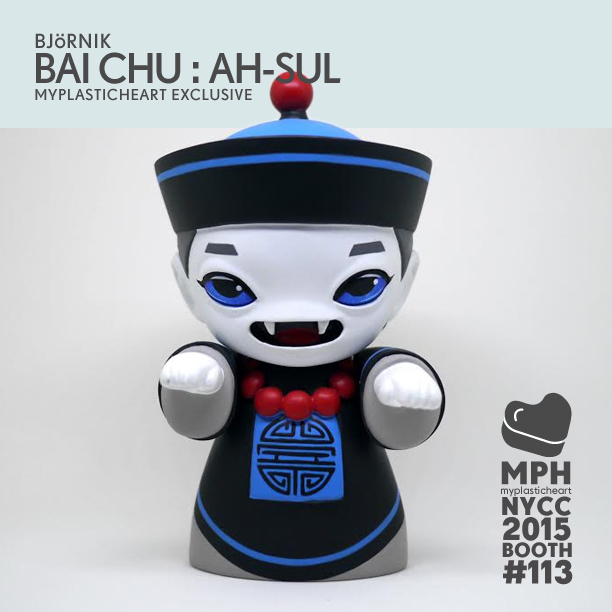 NYCC 2015 Exclusive – Bai Chu : Ah-Sul Edition by Björnik