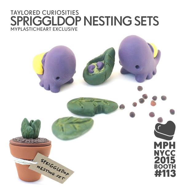 NYCC 2015 Exclusives – Autumn Seedlings and Spriggledop Nesting Sets by Taylored Curiosities