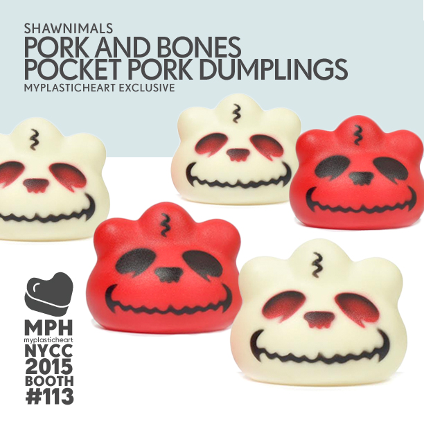 NYCC 2015 – Pork and Bones by Shawnimals