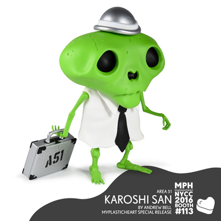 NYCC 2016 – Karoshi San & Wood Androids by Andrew Bell