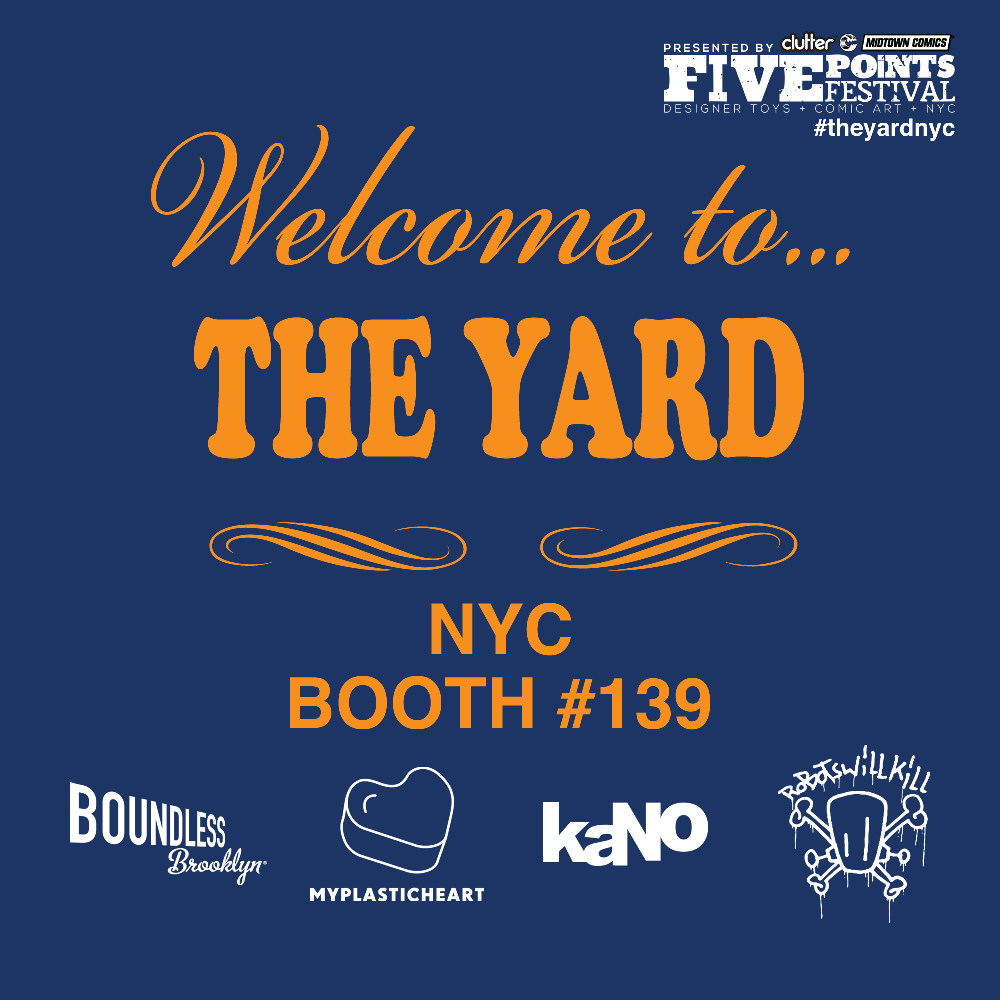 "Visit us in ""The Yard"" during Five Points Fest!"