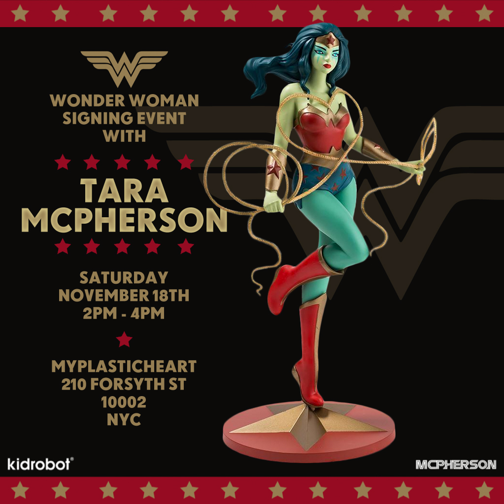 Wonder Woman Signing Event with Tara McPherson